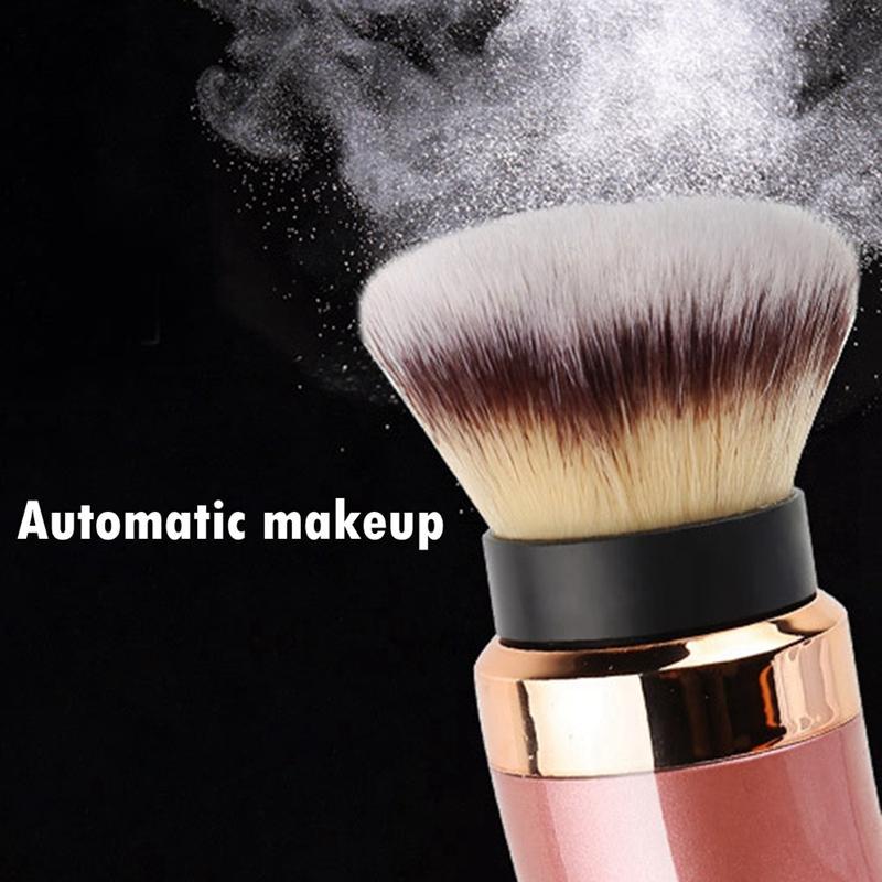 Fond de teint poudre en vrac de maquillage électrique brosse de maquillage professionnel des outils de beauté pinceau de beauté