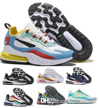 27O réagit avec la boîte Hot vente Chaussures nouvelles femmes Souliers simple Formateurs Maxes requin Livraison gratuite Olive argent Metalli