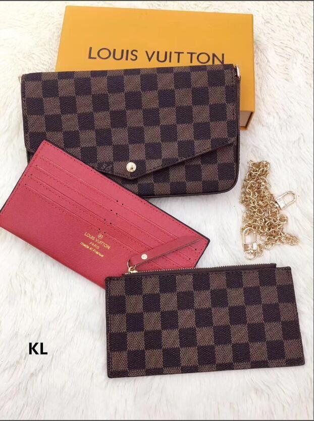 Portefeuille femme Portefeuille Sac Zipper Femme Designer Wallet Holder Porte-carte de mode de poche Sac Femmes Long