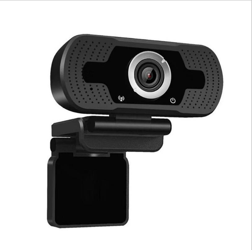 HD 1080P WebCAM INTERPORTADO DUAL DUAL MICS 1080P Cámara web USB Pro Stream Cámara para computadoras portátiles de escritorio PC Game Cam para Mac OS Windows
