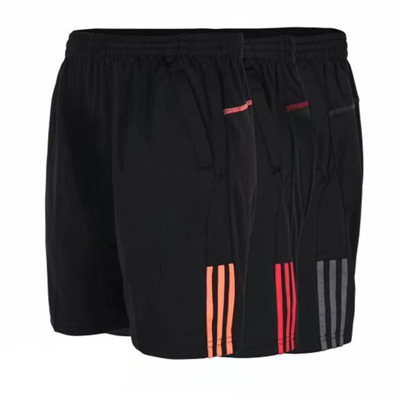 Летние мужские беговые футбольные тренировочные шорты мужские полосы Quick Dry дышащий фитнес-зал спортивной одежды Masculina Bermudas C190420