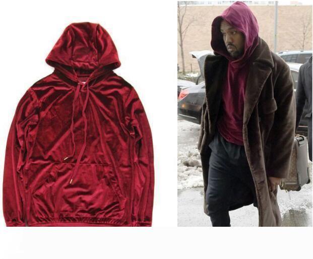 2020 Fashion Men Women Hip Hop Velour Velvet Pullover Tracksuit Kanye Hoodie Pants Joggers Streetstyle Sweatshirt Casual From Fashionman001 38 33 Dhgate Com