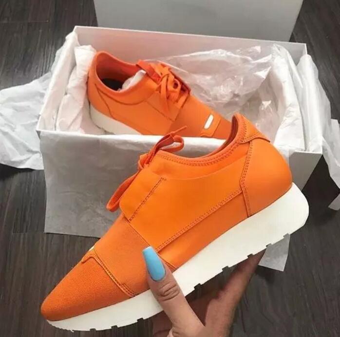 2020 Latest  Balenciaga Shoes  novo Designer Popular da mulher Man Alta Qualidade Moda Low Cut Lace Up respirável malha sapatilha Ao Ar Livre Corrida Shoe Casual