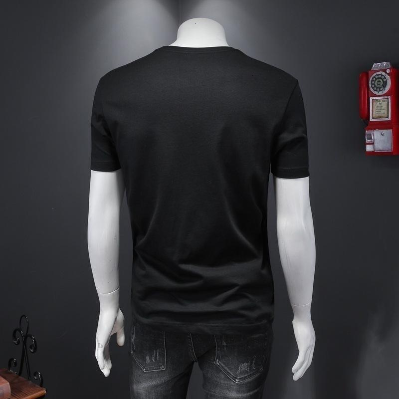 i_lucky03T-Shirt Sommer neue X3V22020 Paar kurzärmeliges cottonVJLX