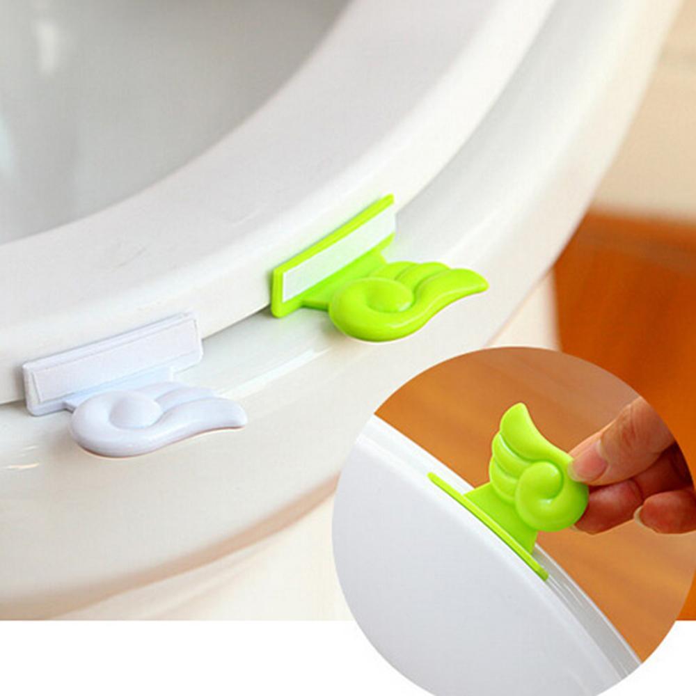 dispositivo de elevación poetable baño hoja cubierta de la manija cubierta de tapa verde baño portátil cubierta de elevación del asiento del inodoro
