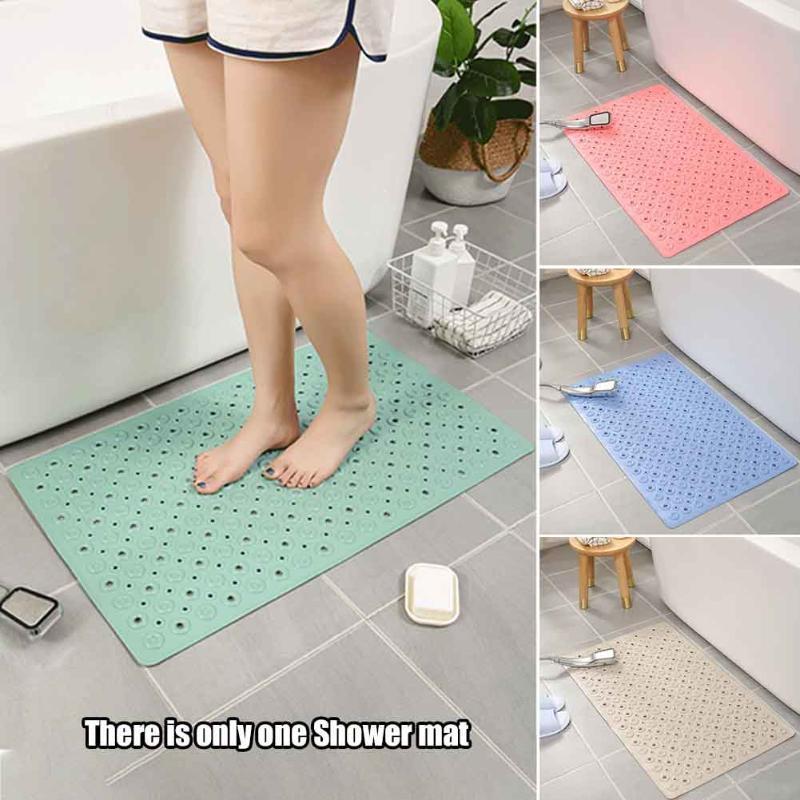 Массаж ног сливные отверстия ПВХ коврик для ванны домашний туалет присоски анти плесень моющийся Нескользящий коврик для ванной комнаты Аксессуары для ванной комнаты отель