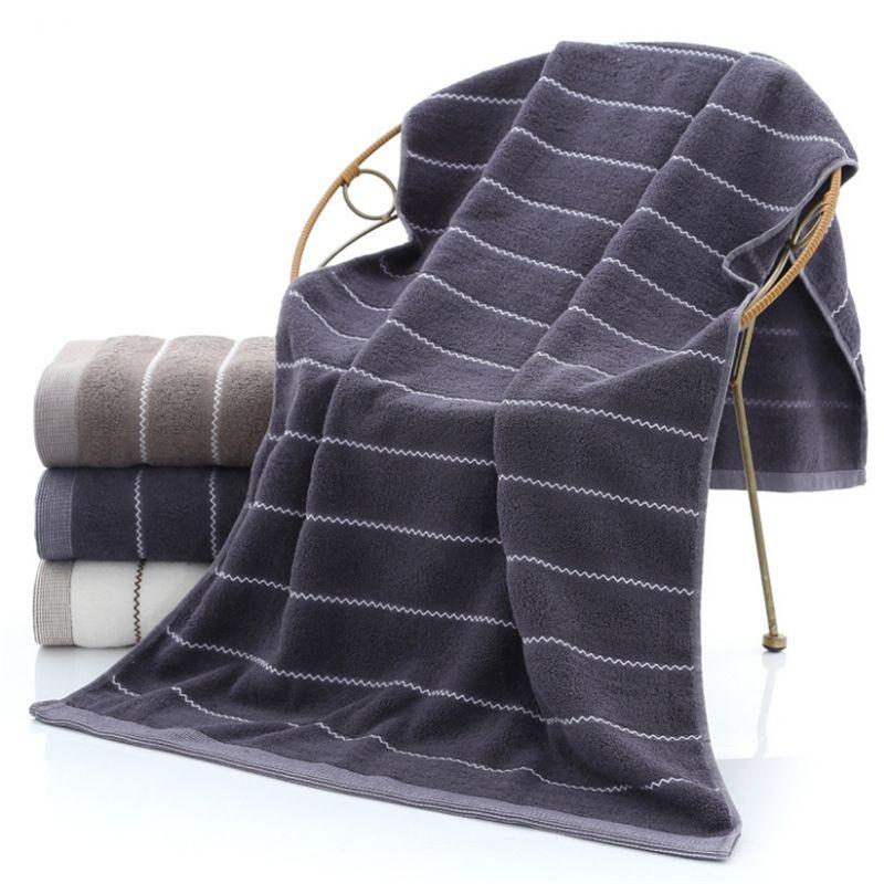 Les fabricants de gros bain en coton uni serviette douce serviette de bain rembourré absorbant 380g