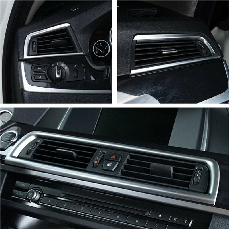 Inner Console Rear Air Vent Outlet Cover Trim For BMW 5 Series F10 F11 2011-2016