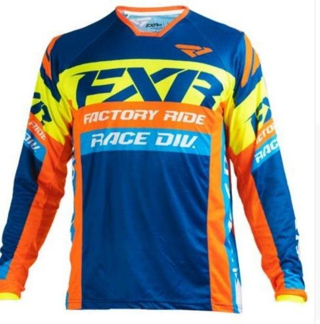 2020 Enduro Jersey MTB Джерси с длинным рукавом MOTOROSS JERSEY ROPA OFFROOD MAILLOT VTT MX Bike Downhill рубашка