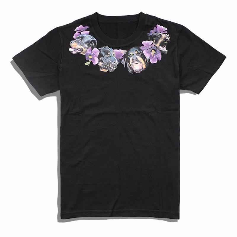 19SS Hommes Styliste T-shirt décontracté à manches courtes d'impression de haute qualité Mode Couple Tendance Sport T-shirts noir Taille S-2XL