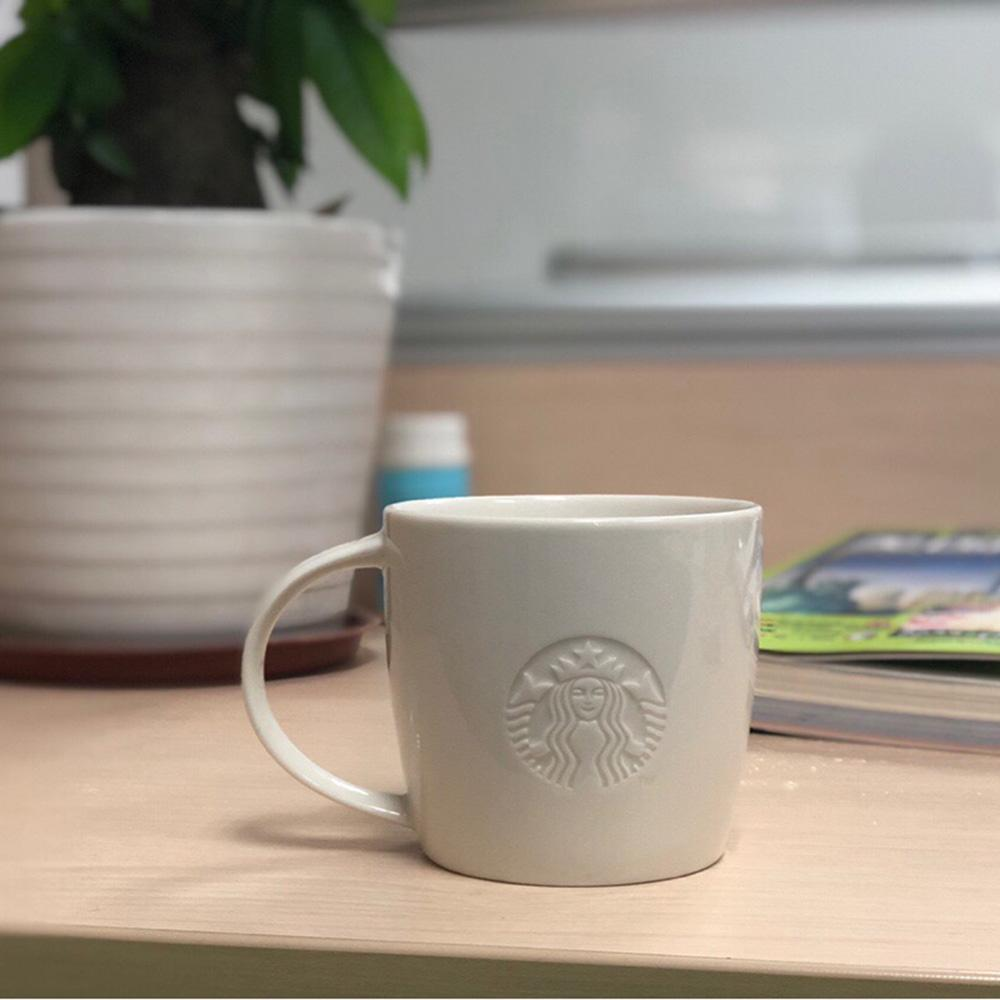 الأبيض القهوة القدح حورية البحر نمط الإغاثة كؤوس الحليب الجدة هدايا السيراميك تصميم الإغاثة كؤوس الشاي الحليب