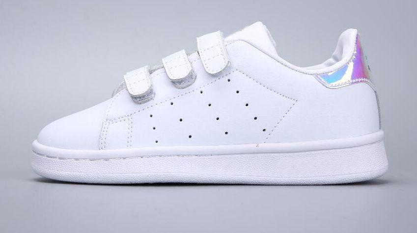 Adidas Stan Smith Superstar Frühling Herbst Kinder Superstar Schuhe Mode Mädchen kausalen Schuhe Super Star Boy Laufschuhe Sport Kinder Schuhe Bord