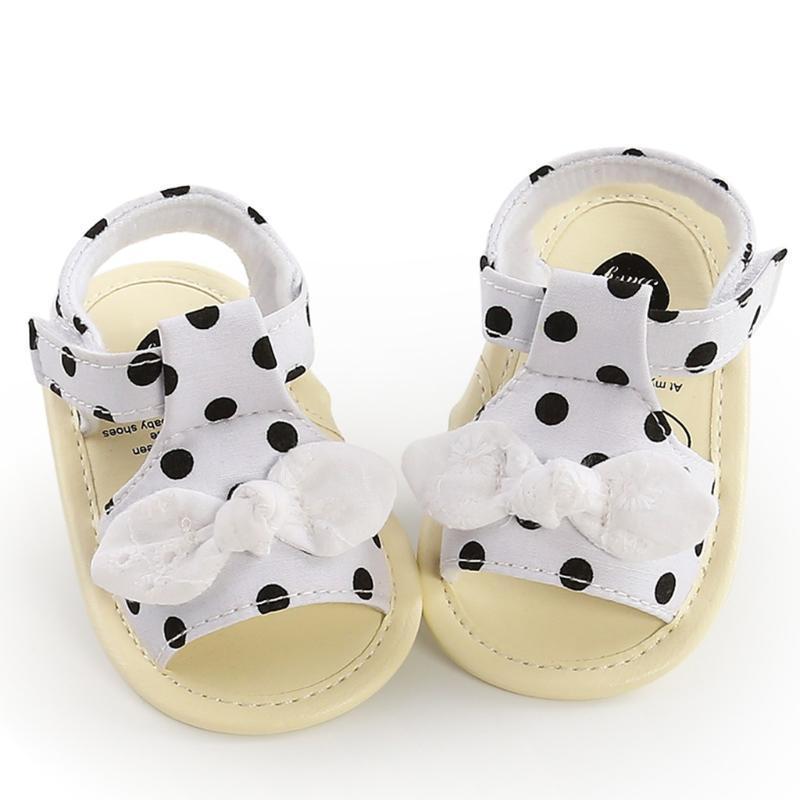 TELOTUNY sandals Infant Kid Baby Girls Dot print Soft Sole Princess Shoes Summer Non-slip Toddler Sandals children girls