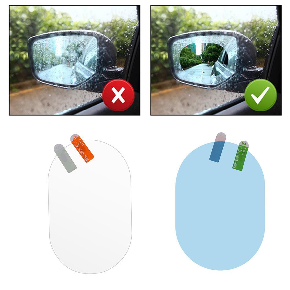 Anti-glare Rainproof Protective Film Anti Fog Car Rearview Mirror Hydrophobic