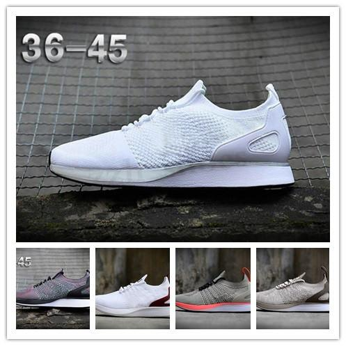 NIKE Air Flyknit Racer Be True 2 2018 classica Zoom Mariah Fly Racering 2 Mairhs Flykit 3 Lunar Zoom Pegasus Mens Athletic Shoes Casual Racers formatori Dimensione 40-45 PR03