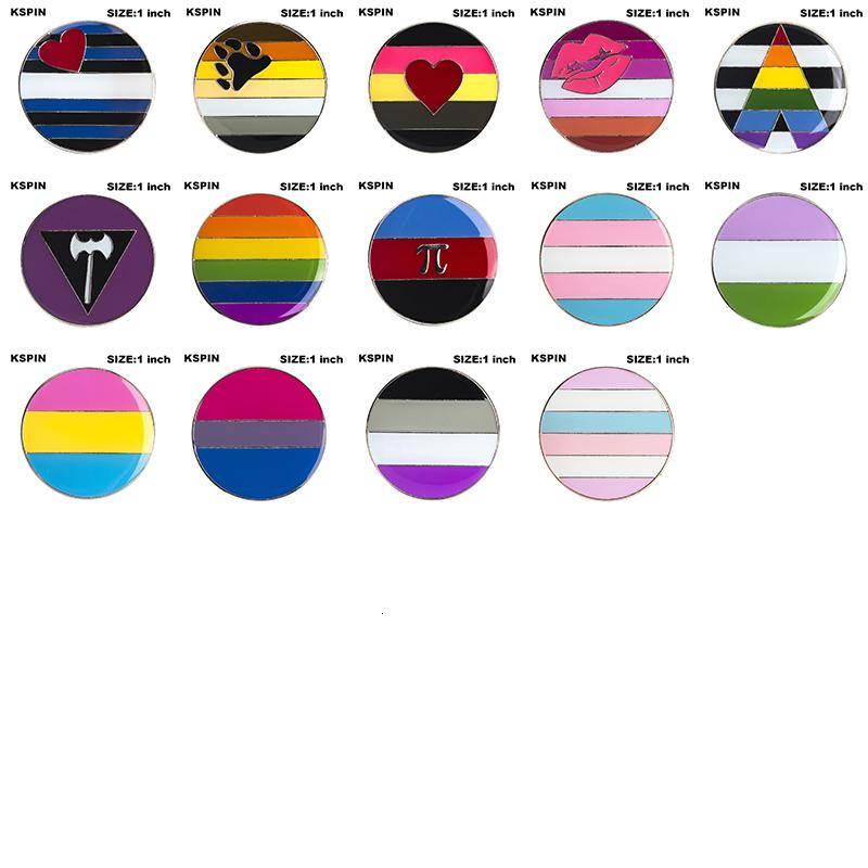 "1/"" 25mm MADE IN UK Gay Pride Button Badges Pins OR Magnets Single or Set"