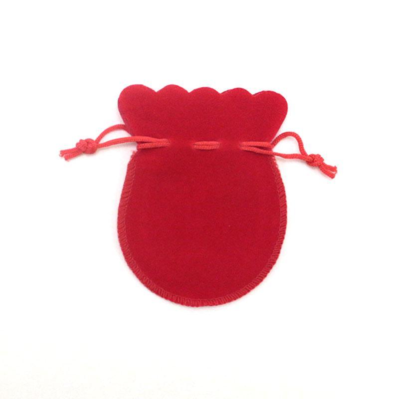 200 шт. / лот 8x10 см Packaing Drawstring бархат сумки Саше подарочная сумка для ювелирных изделий свадебные вещи партии шарик контейнер для хранения
