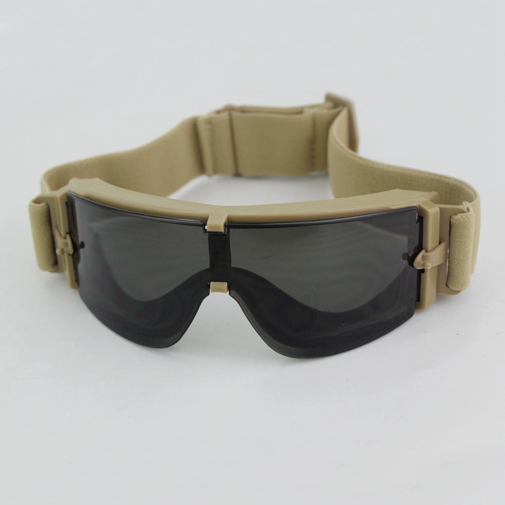 Открытый тактический X800 очки анти-лягушка кемпинг Велоспорт солнцезащитные очки УФ-защитные Мужчины Женщины очки