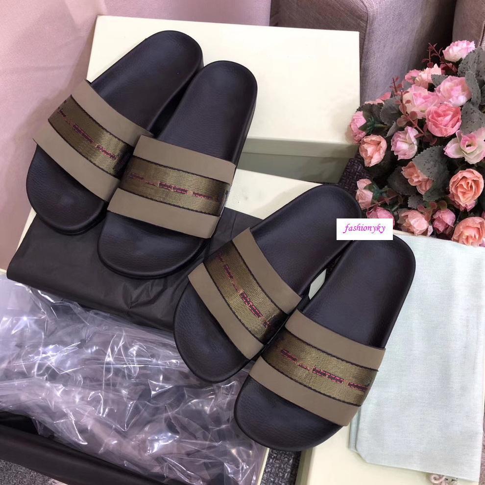 Summer Fashion Off Freizeit Indoor-Strand Pantoffeln Weiß-Druck schatze Pantoffeln