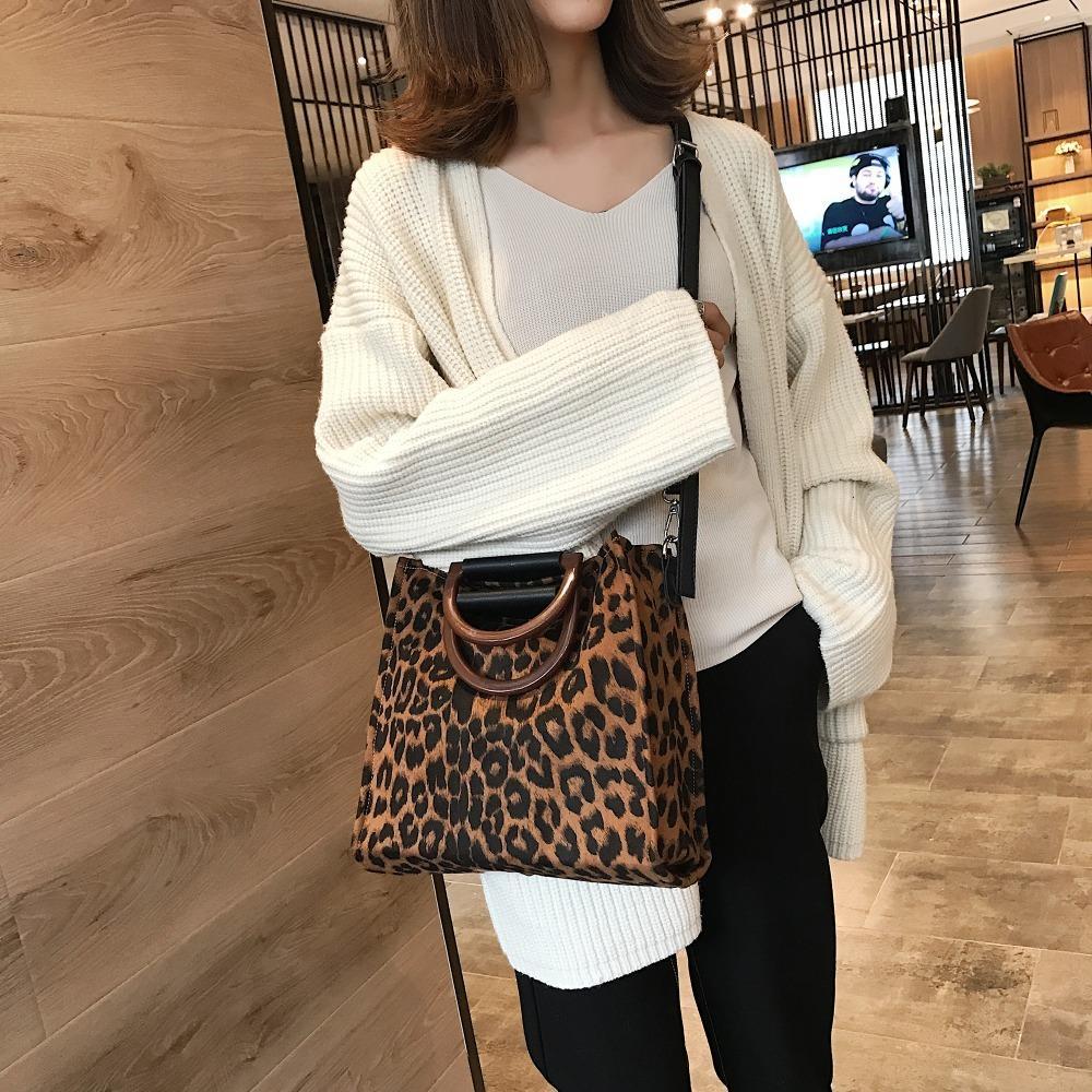 Leopardo de mano Para 2019 bolsos de lujo de las mujeres del diseñador con la manija del bolso de hombro Bolsas de Crossbody del bolso de las mujeres de la venta caliente MX200327