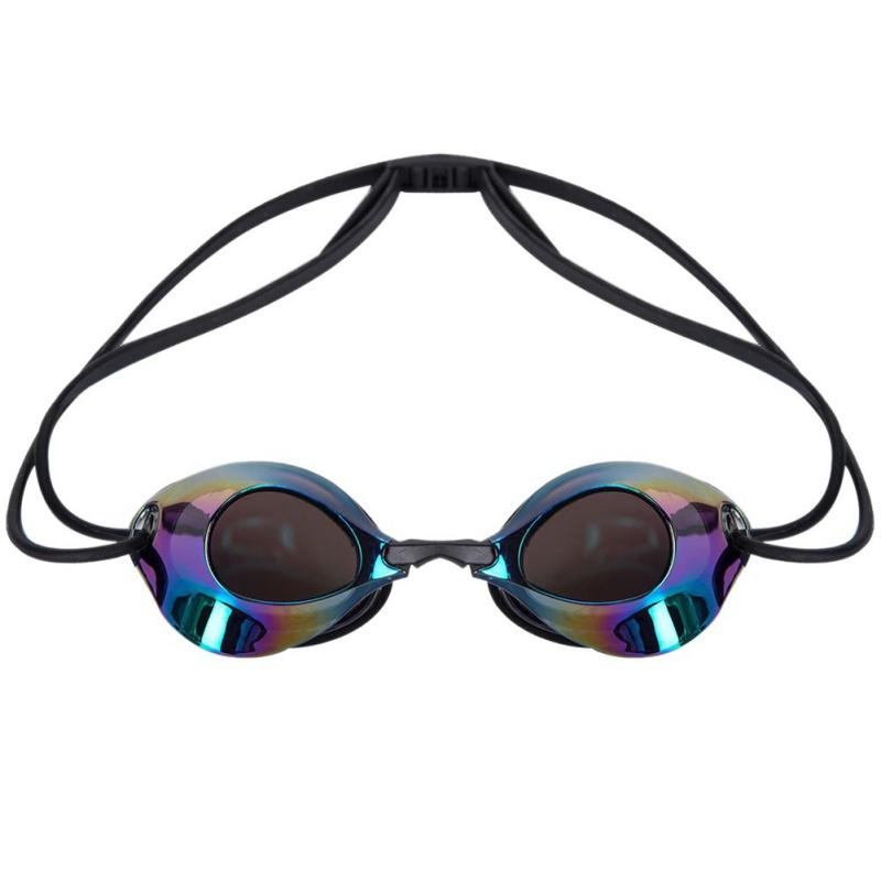новые мужчины женщины плавания очков взрослых водонепроницаемые очки профессионального плавание противотуманно УФ профессиональные очки плавания