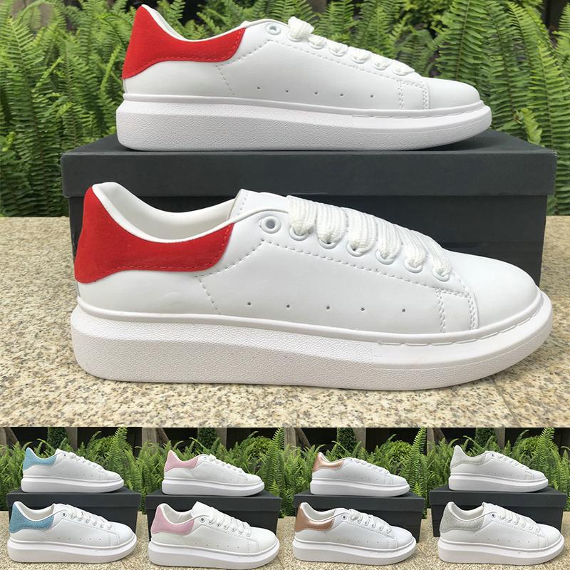 2020 дизайнер тапок женщин вскользь ботинки платформы белый черный хвост верхней 3M отражающей фиолетовый серебро моды тренеров роскошные мужские