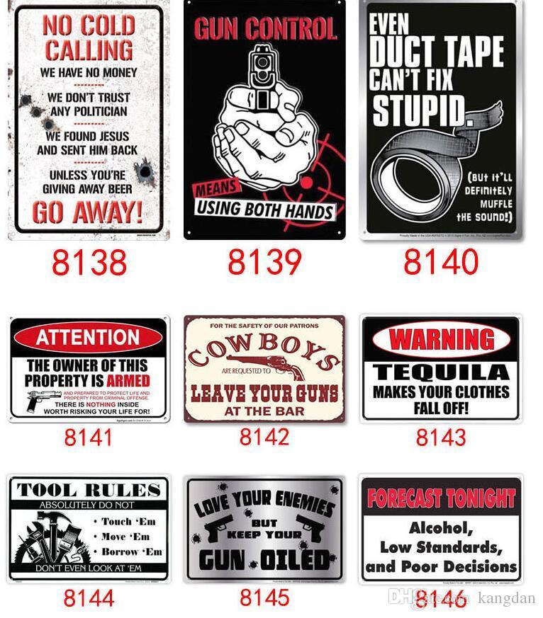 No Sales No Cold Callers Metal Wall Sign Plaque Art Safety Security Notice