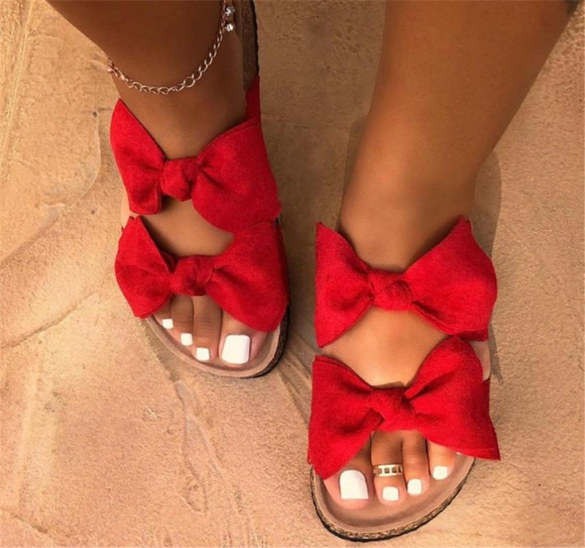 Yaz Sandalet Kadınlar 2020 Ayakkabı Kadın Kaliteli Sandalet Moda Terlik ilmek Sıcak PH-CFY20051532