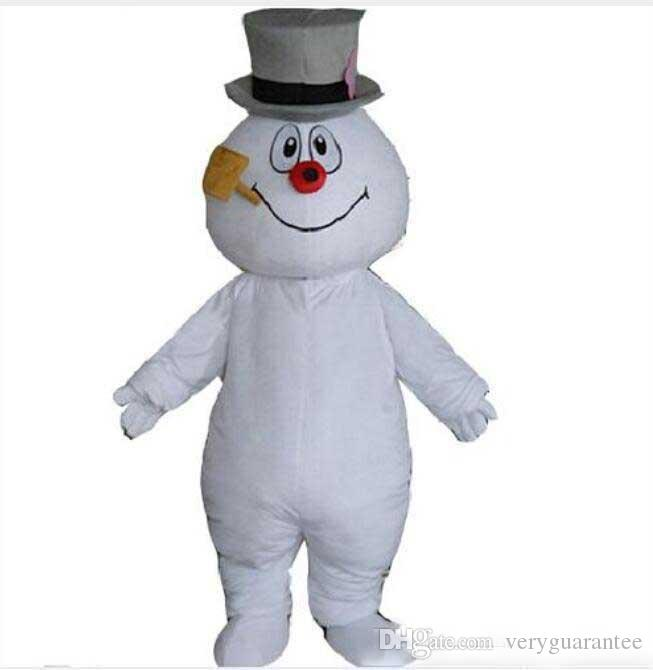 expédition de baisse nouveau MASCOT CITY Frosty le bonhomme de neige MASCOT costume costumes anime mascotte thème déguisement costume de carnaval