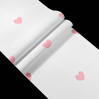 Cute Fashion Love Heart Shaped Wallpaper Minimalist Geometry Black Pink Heart Wall Cover Childrens Bedroom Living Room Home Wall Decoration Cellphone Wallpaper Cellphone Wallpapers From Luckyqiyi 11 06 Dhgate Com