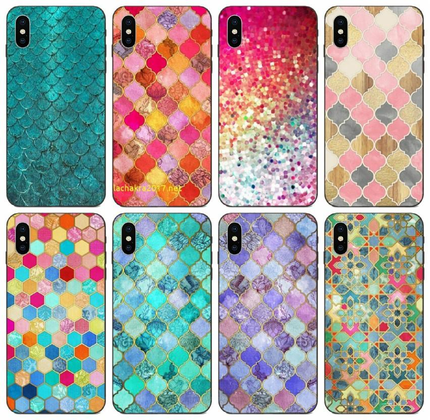 Tongtrade Nice Colorful Wallpaper Colorful Cute Case For Iphone 11 Pro X Xs Max Xr 8s 7s 6 Plus Samsung A6 A60 A6s Huawei P20 P30 Pro Case Customized Phone Cases Cute