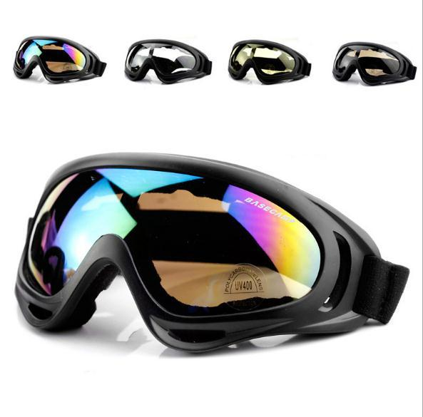Outdoor Eyewear Goggles Cycling Motorcycle Sports Goggles X400 Sandstorm Fan Tactical Equipment Ski Goggles Free Shipping