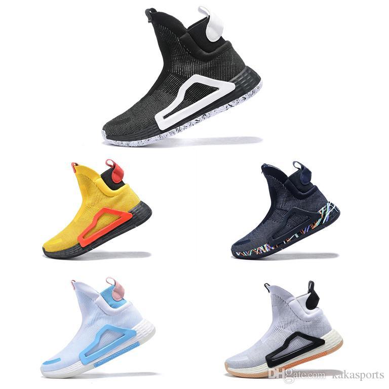 2019 N3XT L3V3L True Green Clear Pink Wild Midsole Gum 5 Soles Pro Vision for Men Basketball boots sport sneaker City Sock Shoes