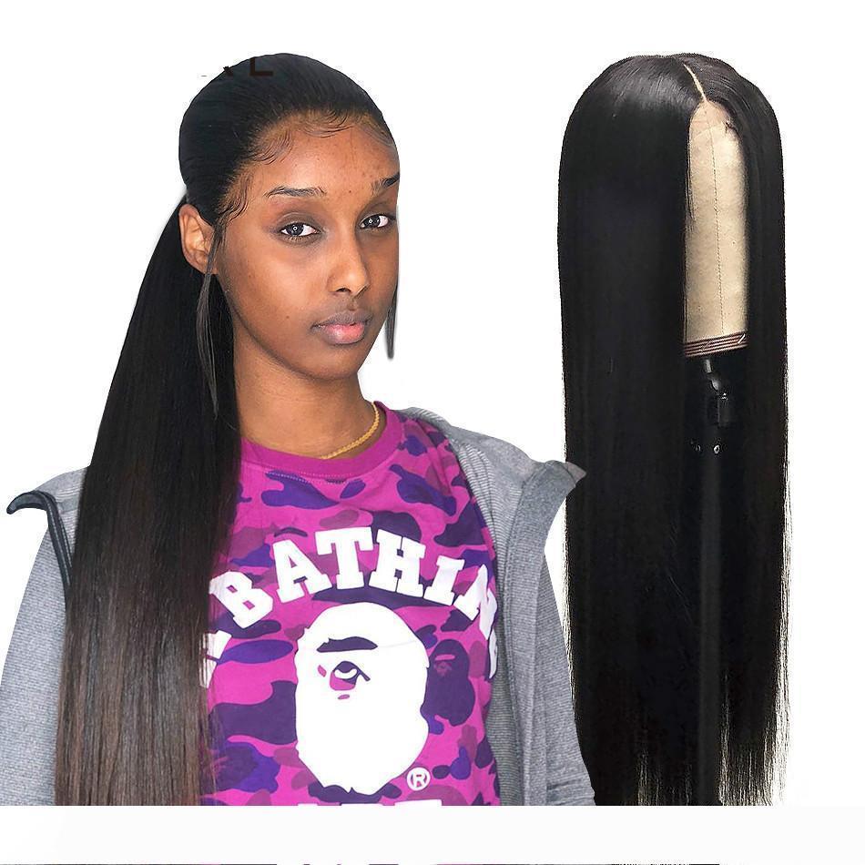 Wigirl 13x6 parte anteriore del pizzo Human Wig Capelli lisci 30 32 pollici lunga parrucca Glueless Pre pizzico brasiliano frontale parrucca per Black Women