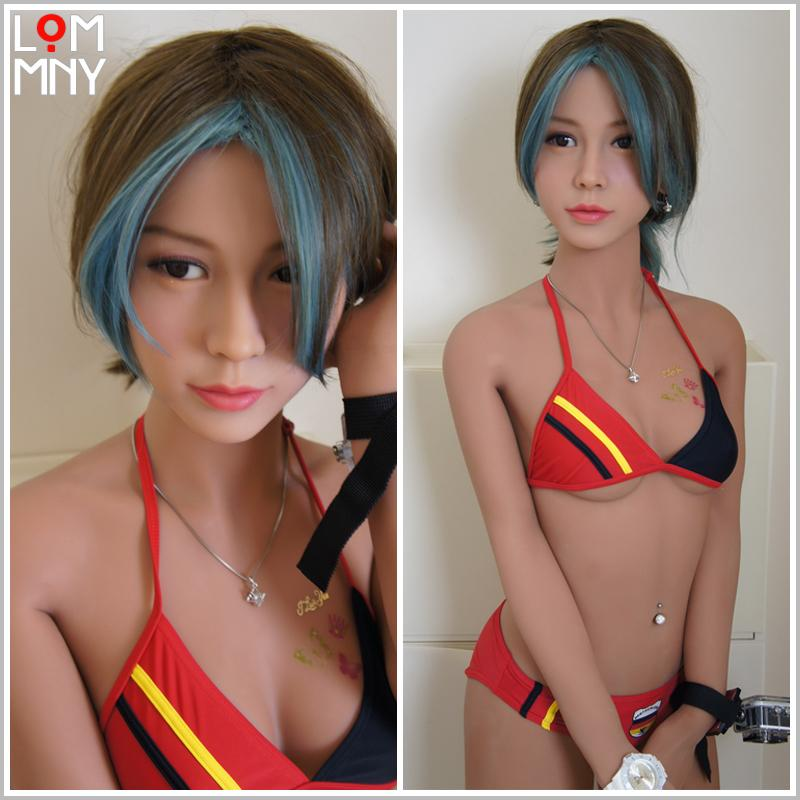 Lommny Silicone Sex Poupées Livelike Chatte Réaliste Cadre en métal Japonais Sexy Love Poupée Mini Vagin Anime Adulte pour hommes