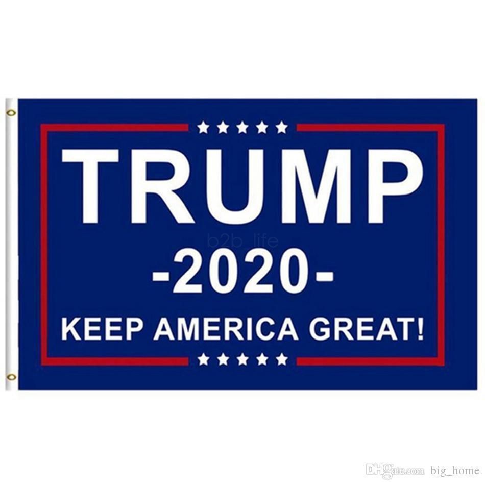 90x150cm Trump 2020 Flag Print Keep America Große Banner Garten Fenster-Dekor-Präsident USA-Amerikaner Donald Flag 60 LJJ_A1998