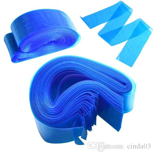 100Pcs/set Blue Tattoo Clip Plastic Cord Sleeves Bags Supply Disposable Covers Bags for Tattoo Machine Tattoo Accessory