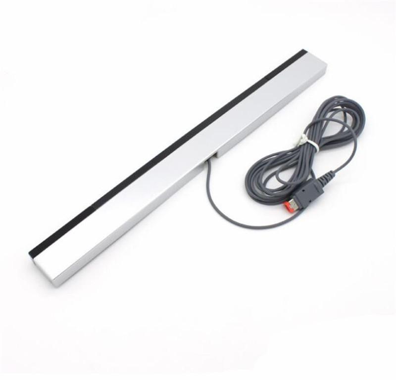 Wii U WiiU için Nintendo için W-ben Kablolu Kızılötesi IR Sinyal Ray Sensör Bar Alıcısı