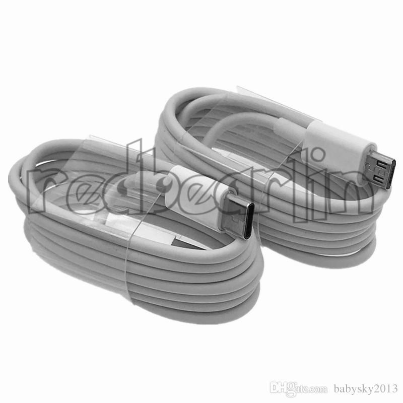 USB Tipo C Cavo Micro Usb Cable 1m 3FT USB Cavi C sincronizzazione di dati del caricatore del filo per Samsung S8 S9 S10 HTC LG Foil Shield