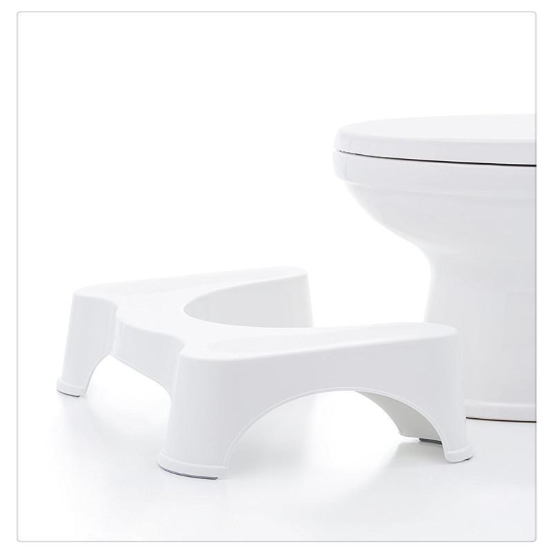 Cuidado de la Salud Squatty ir al baño original Cuarto de baño WC heces a prevenir el estreñimiento para mayores Niños Mujeres embarazadas Pie Tratamiento para el cuidado de la salud