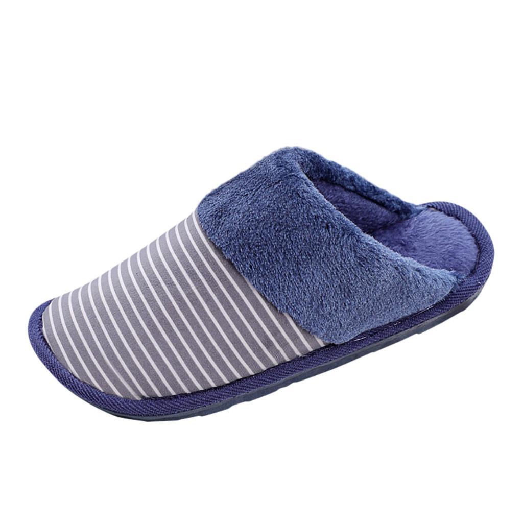 Erkekler Büyük Beden Çizgili Patchwork Kış Sıcak Ayakkabı Casual Bayanlar Su geçirmez Ev Artı Kadife Sıcak Ayakkabı Pamuk Terlik