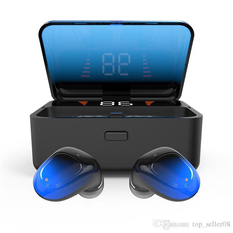 2019 o mais novo Barato Acessórios do Telefone Móvel TWS Ture Estéreo sem Fio Auricular BT sem Fio de Fone de ouvido Fone de ouvido Fones de ouvido