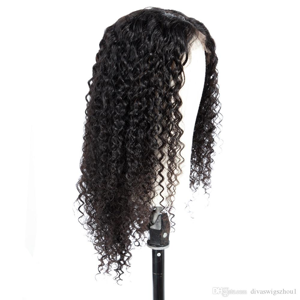 360 Lace Frontal Wig For Black Women 130% Density Loose Deep Curly Wave Brazilian Remy Hair Human Hair Wigs With Baby Hair