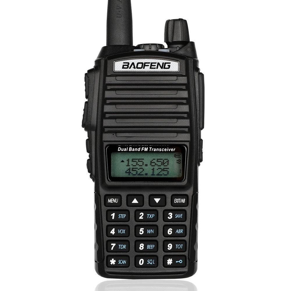 10pcs Upgrade BaoFeng UV-82 8W Walkie Talkie 10 KM Baofeng 8W Radio Dual PTT UV-XR UV-9R GT-3TP Ham Radio 10 KM UV-5R 8W