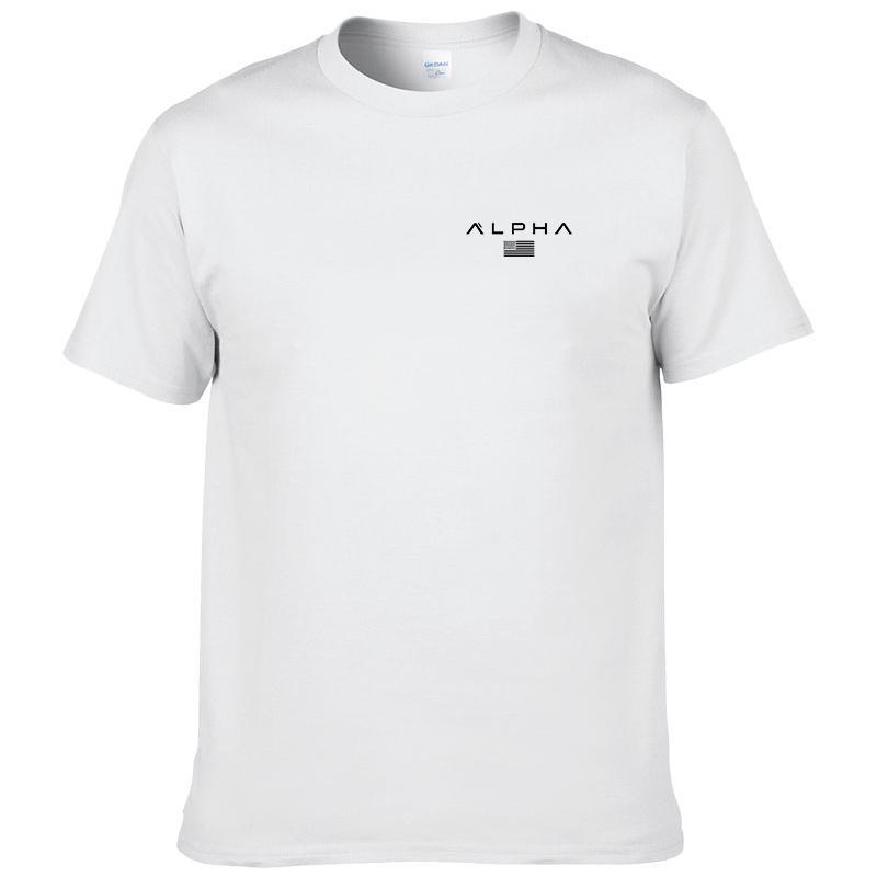 Hombre del diseñador camiseta del verano A MEDIDA DE LOS HOMBRES 100% algodón Camiseta NUEVO ESTILO DE LA MANERA GRANDE tamaño de impresión personalizada en el GIMNASIOS DEMAND TOPS