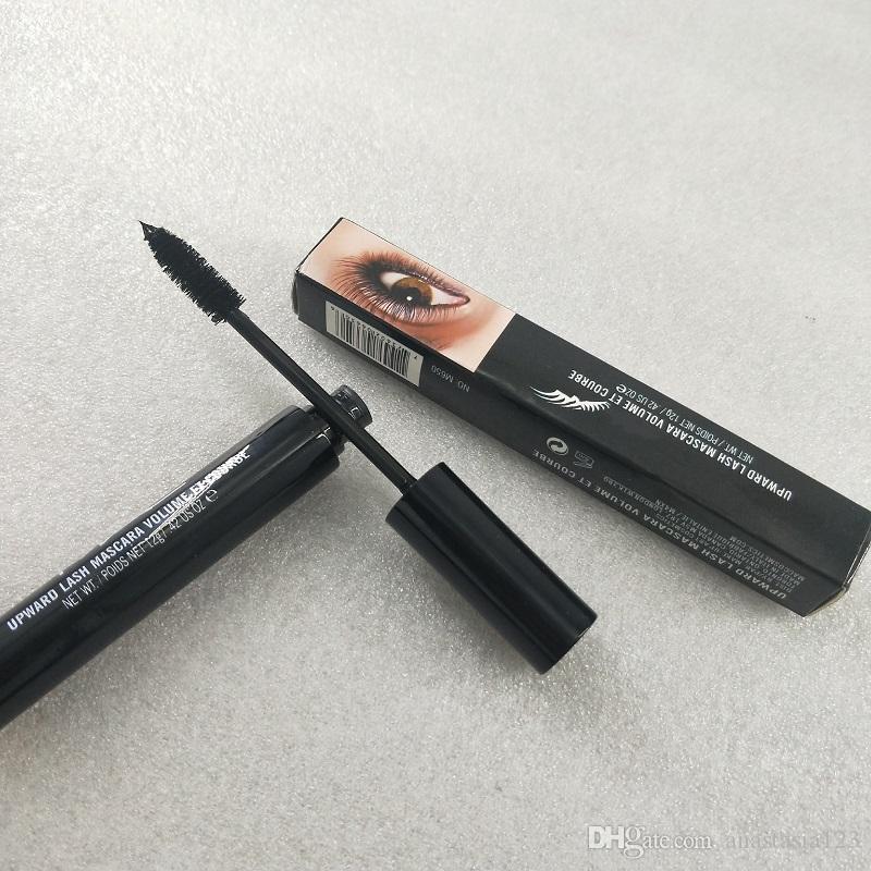 maquillage NO.8249 Marka Makyaj yoğun lif uzunluğu maskara 12g Siyah Lash kalıcı çekicilik çiçek vermez
