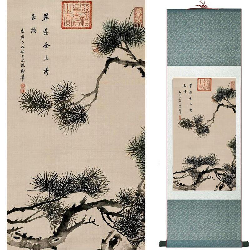 Blumen, die chinesische traditionelle Kunst-Malerei-Inneneinrichtung Paintings2019082206 malen