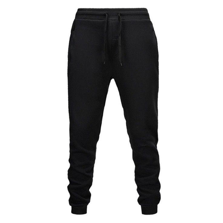 Rahat Sweatpants Katı Moda Yüksek Sokak Pantolon Pantolon Erkek Joggers Yüksek Kalite Gri Yeni Spor Pantolon