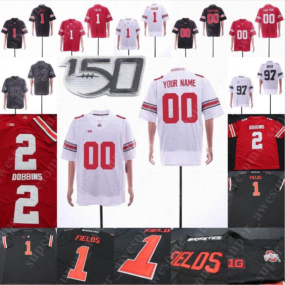 Chic Harley Ohio State Buckeyes Football Jersey - Red