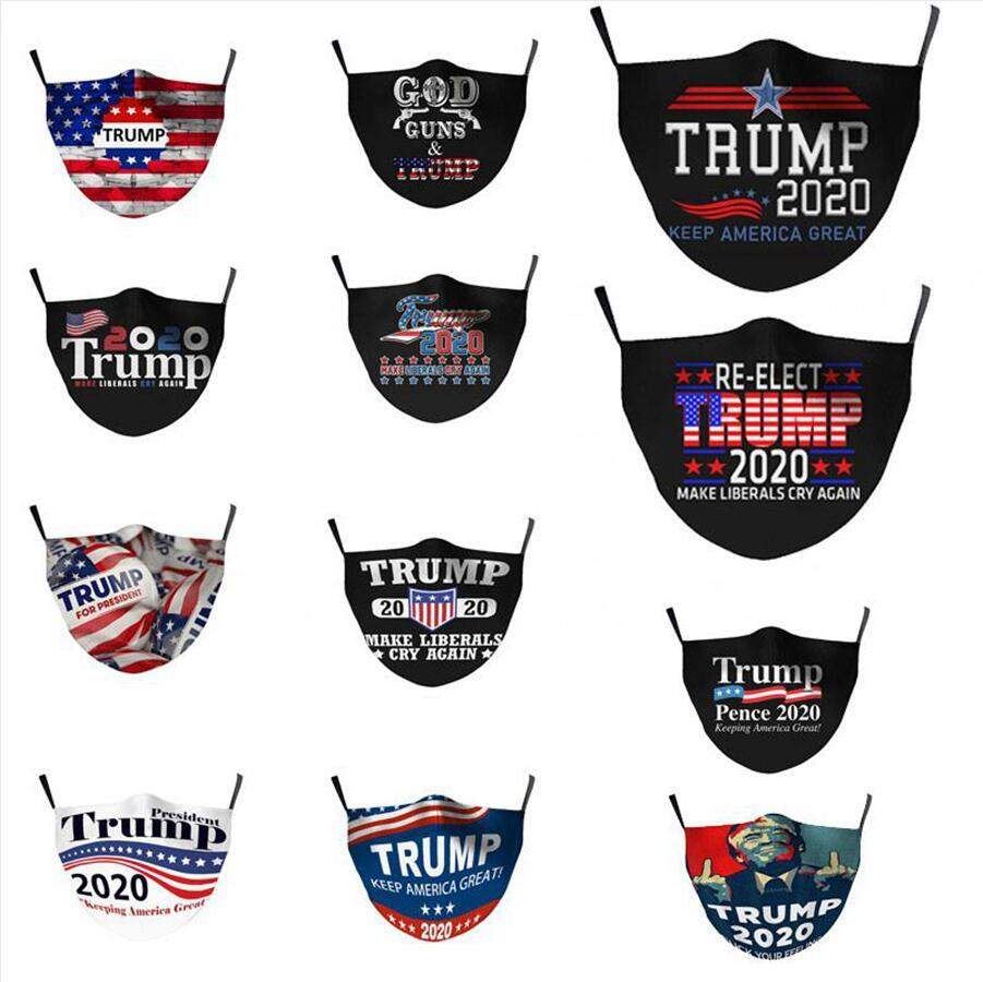 Creativity Trump Mask Adults Childs 2020 US Election Supplies Face Mask Keep America Great Trump Mouth Masks DDA313